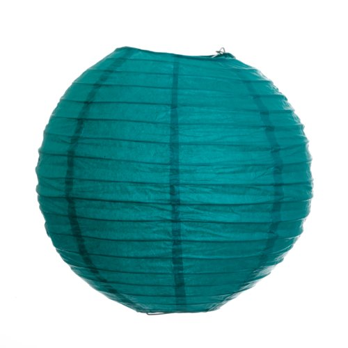 UPC 887394022470, Koyal 10-Inch Paper Lantern, Peacock Blue
