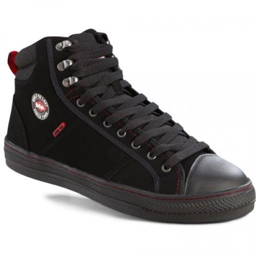 Lee Cooper 022 Sapatos De Segurança Sb Em Sneaker 37 Olhar Preto