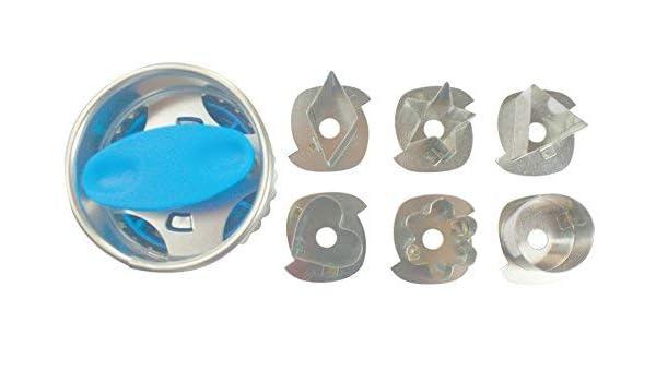 Moldes para cortar galletas, con 6 centros intercambiables: Amazon.es: Bebé
