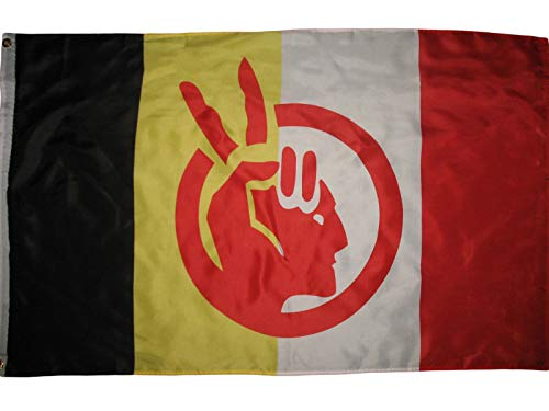 AIM American Indian Movement Flag Native American Rights Protest 3x5 ft Banner