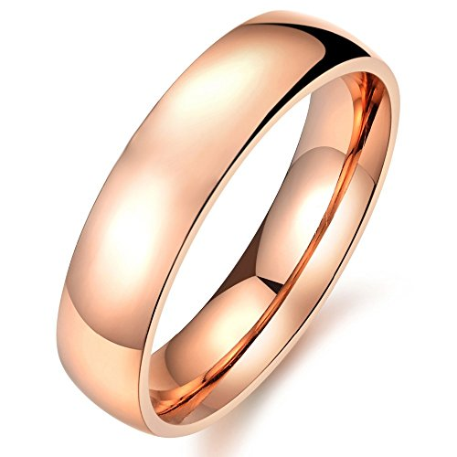 yoursfs Plain Ring Gold - 8