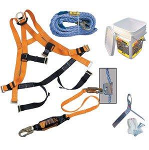 MILLER Ready Roofer Kit: 50' Lifeline (Sperian Equipment Miller)