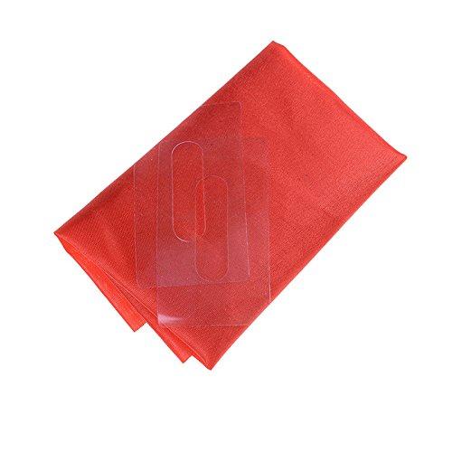 Street Magic Tool Trick Show Prop Tool Magic Red Silk Through phone