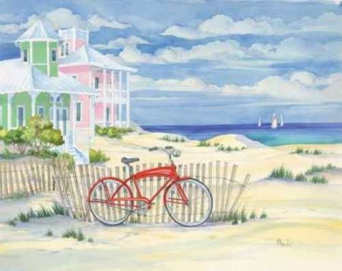 Beach Cruiser Cottage I by Paul Brent - 19