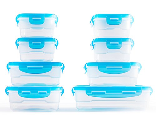 Elacra Containers BPA Free Microwavable Stackable product image