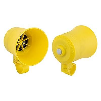 "Biketones, MP3 Bicycle Horn, Yellow ""Bee Dooo"""