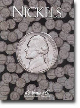 Harris Blank Coin Folder for Nickels 2682