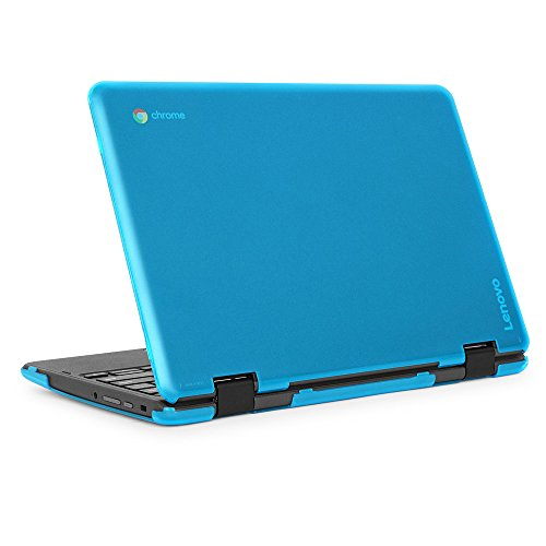 mCover iPearl Hard Shell Case for 2018 11.6 Lenovo 300E / Flex 11 Series 2-in-1 Chromebook Laptop (NOT Fitting Lenovo 300E Windows & N21 / N22 / N23 /100E / 500E Chromebook) (C300E Aqua)