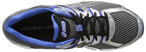 Scarpe da corsa Gt-1000 3 da uomo, Lightning / Black / Royal, 7 4E US