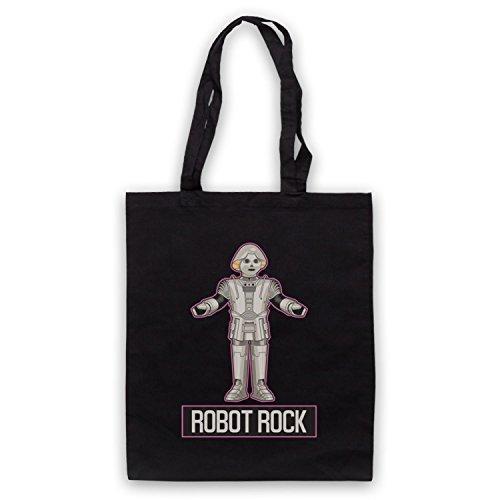 Parody Art Retro amp; Sci d'emballage Dance Clothing My Noir Fi Robot Rock Sac Icon HxwBqB
