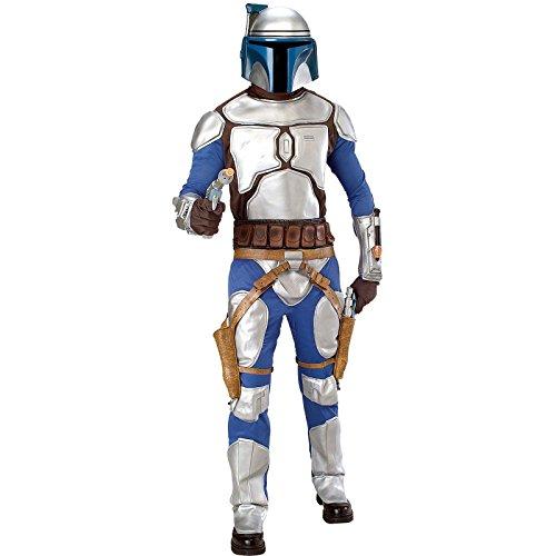 Star Wars Jango Fett Costumes (Star Wars Classic Deluxe Jango Fett Adult Costume Size: Standard)