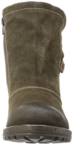 FLY LORY048FLY P144048001 LONDON Sludge MARRON BOTIN Olive SqFwCRxxA