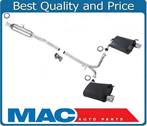 Mac Auto Parts 159116 Brand New Middle Resonator & L/R Mufflers For 07-11 Camry & 07-11 ES350 3.5L V6 US BUILT