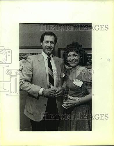 Vintage Photos 1987 Press Photo Phil and Marleen Pedroza at San Antonio Zoo Reception