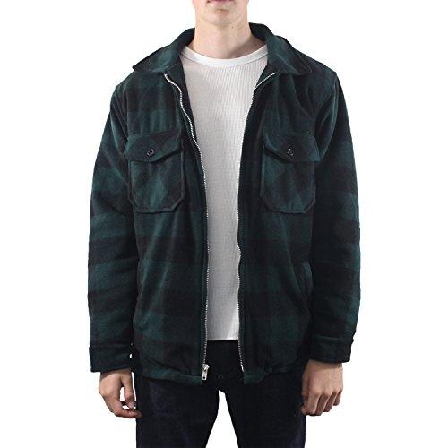 Dark Green Jacket Fleece - 9