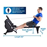 Stamina DT 397 Rowing Machine Rower, Dual