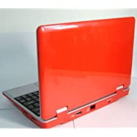 Soledpower® New (Android 4.2 - 512mb Ram,4gb Hard Disk) Solid Red 7 Inch Android Laptop Netbook Pc, Wifi and Camera with Installed Apps ,Support Sd Card ,Google Play Store,hdmi,red Color