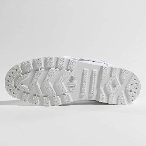Low Femme Baggy Alto Collo a Donna Lp bianco Sneaker Palladium U7O5qwn