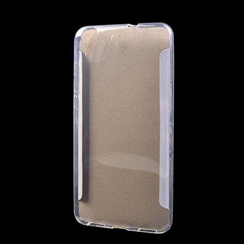 Huawei Honor 5A Funda,COOLKE Carcasa Transparentee Soft Silicone Cover Clear Case Funda Protectora Carcasa Blanda Caso para Huawei Honor 5A - Transparente