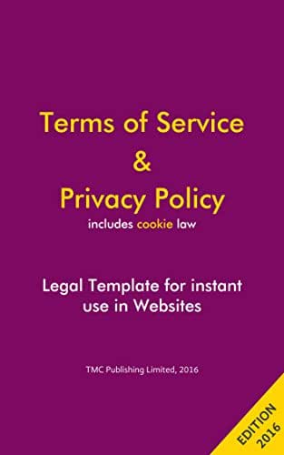 Terms of Service & Privacy Policy Template for Websites