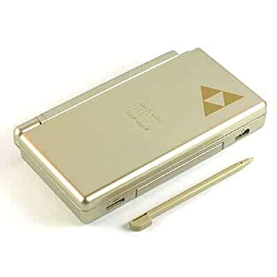 zelda gold nintendo ds lite complete full housing shell case replacement repair w. Black Bedroom Furniture Sets. Home Design Ideas