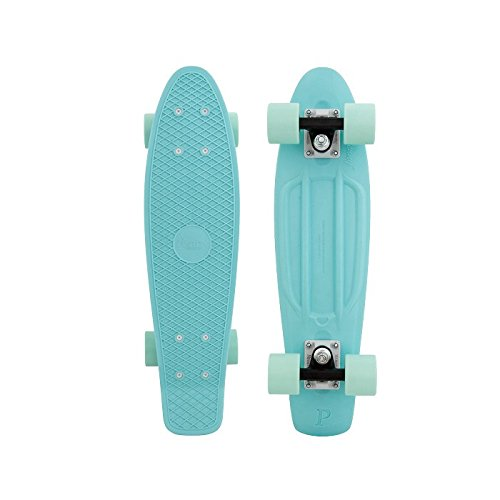 Penny Classic Complete Skateboard, Tinted Mint, 22″