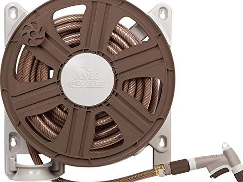 The Ames Companies, Inc 2388340 Side Mount Hose Reel (Best Wall Mounted Garden Hose Reel)