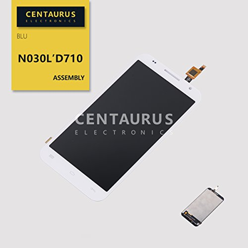 D710 Lcd - for BLU Studio 5.5 K D710 New Assembly LCD Display Touch Screen Digitizer Glass Replacement Panel