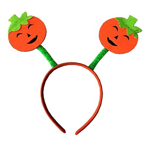 [Smartcoco Children Pumpkin Halloween Decorative Head Buckle Hair Hoop For Cosplay Party and Masquerade] (Batman Pumpkin Stencils)