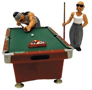 Amazoncom Homies Pool Hall Set Pool Tables Sports Outdoors - Pool table hall near me