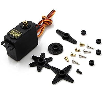 RioRand 4 Sets MG995 Metal Gear High Speed Torque Servo RC Parts: Toys & Games