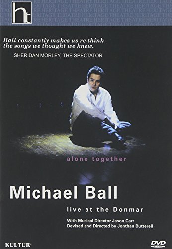 2005 British Open Dvd - Michael Ball: Alone Together - Live at the Donmar