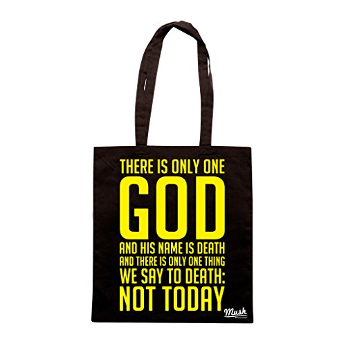 Borsa THERE IS ONLY ONE GOD - Nera - FILM by Mush Dress Your Style