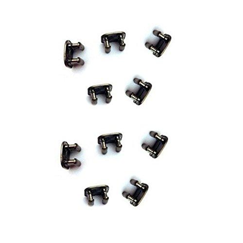 [해외]교체 10 조각 Fitbit 플렉스 팔찌를위한 금속 걸쇠 그것 플렉스 T를 연결하는 비트 플렉스 팔찌 스포츠 밴드 팔찌 완장 교체 걸쇠/Replacement 10 Pieces Metal Clasp For Fitbit Flex Wristband it Bit Flex Bracelet Sport Band Wristband Armband...