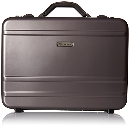 - Samsonite Delegate 3.1 Hardside Attache, Gun Metal