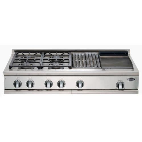 DCS Appliances : CP-484GG-L 48in Professional Cooktop