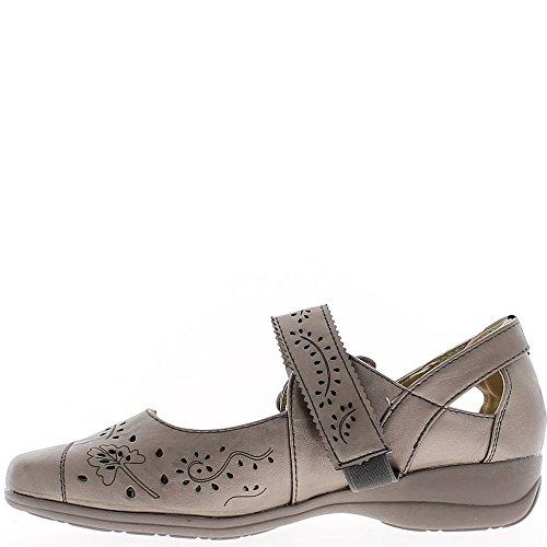 Argento donne scarpe ventilato nodo arredamento comfort