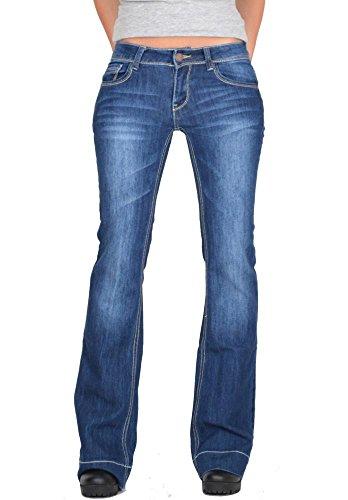 Basse H Taille Bootcut Cindy Bleu Jean Tq60vnwZt