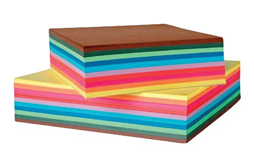school-specialty-411865-origami-paper-school-pack-8-x-8-assorted-colors-pack-of-500
