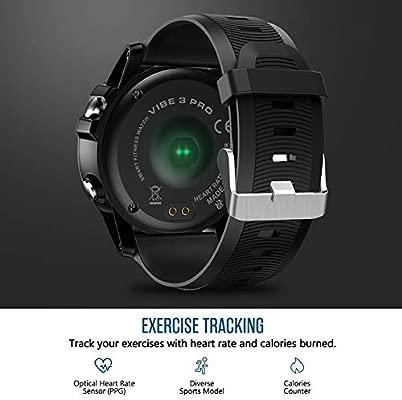 Househome Zeblaze Vibe 3 Pro Sports Tracker , Android iOS ...