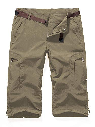 - Aiegernle Women's Quick Dry Cargo Shorts,Outdoor Casual Straight Leg Shorts for Hiking Camping Travel Khaki