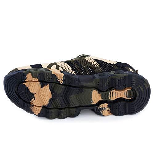 Donna Scarpe Uomo Militare Verde Da Sportive Running A589 A59 Mimetico Fitness Ginnastica Toocool Ud8In7Wd