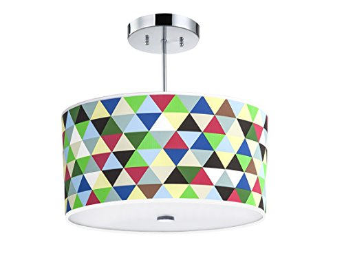 Colored Drum Pendant Lights in Florida - 6