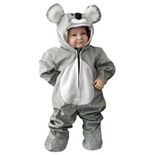 [Fantasy World Boys/Girls Koala Halloween Costume, Sizes 2T, J42] (Cute Baby Boy Costumes Ideas)