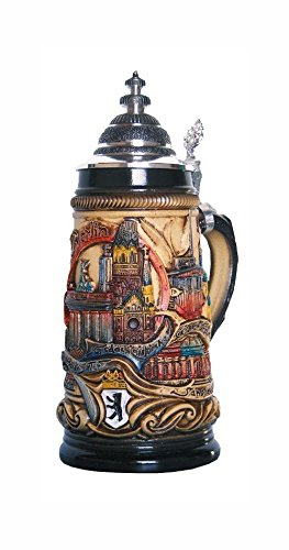 German Beer Stein Berlin Panorama Stein 0 5 Liter Tankard