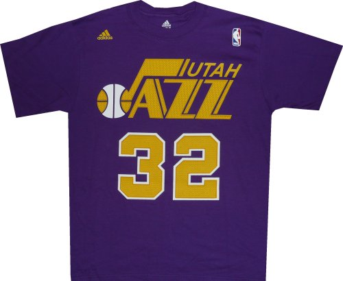Only 20.50USD Utah Jazz Karl Malone 1988 Adidas Throwback Shirt (Large) ... 32c92f792