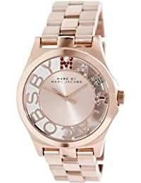 Marc by Marc Women's MBM3264 Rose-Gold Stainless-Steel Quartz Watch