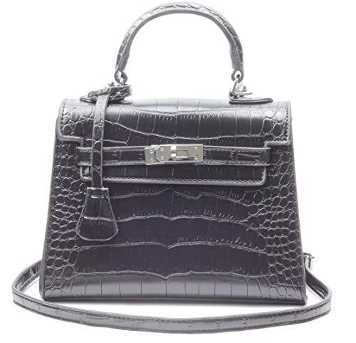 Women's Top-handle Bag Cross-body Bag Shoulder Handbags Crocodile Embossed Designer