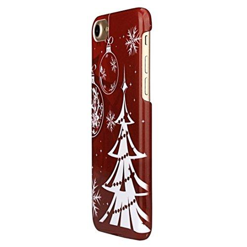 cas de l'iPhone 7,2016 Motif Noël Fashion Cover Retour Case pour iPhone 7 4.7Inch