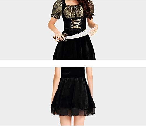 Dress Party Ropa De Mujer,Disfraz Caribe Pirata Falda Corta Negro ...